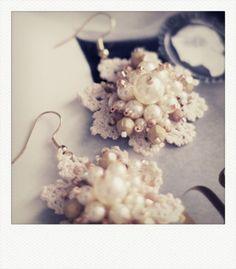 Emma Cassi - beautiful handmade lace jewellery
