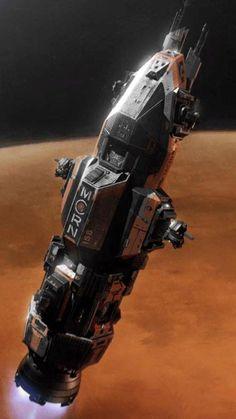 Spaceship Art, Spaceship Concept, Concept Ships, Concept Art, Star Citizen, Kraken, The Expanse Ships, Jupiter 2, Dune Frank Herbert