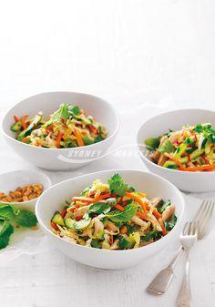 Sydney Markets - Vietnamese cabbage, carrot & chicken salad