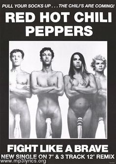 Red Hot Chili Peppers ...love this group!