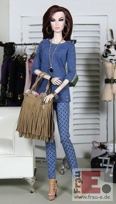 "https://flic.kr/p/BF8Bb4 | OOAK Doll Outfit ""The Blue"" 