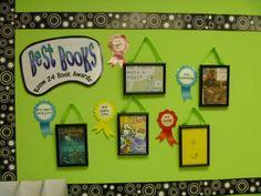 Book Award Wall