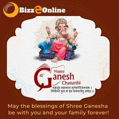 Happy Ganesh Chaturthi ! May the blessings of Shree Ganesha be with you and your family ! Regards www.bizzeonline.com Application Development, Design Development, Software Development, Seo Services Company, Seo Company, Digital Marketing Manager, Digital Campaign, Happy Ganesh Chaturthi, Website Design Company