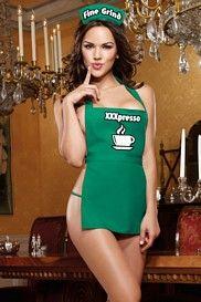 night nurse bedroom costume lingerie zipper front teddy