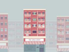 Building Illustration by Santhosh Rajendran