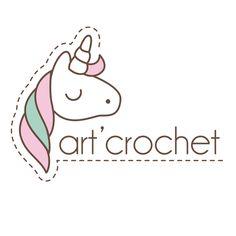 logo design art crochet