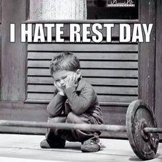 Frustration. Men vila är nyckeln och det enda jag kan påverka sista veckan innan loppet.