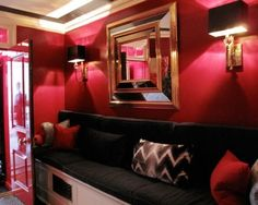 #red interior Mary McDonald