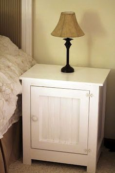 DIY Nightstand. $150 for the pair. I may need to try this in my new apartment