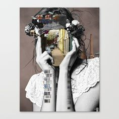Buy Crazy Woman - Lara Lisa Bella Canvas Print by markokoeppe. Worldwide shipping available at Society6.com. Just one of millions of high quality products available.