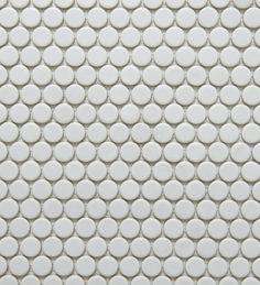Academy Tiles - Ceramic Mosaic - Glazed Penny Rounds - 81980