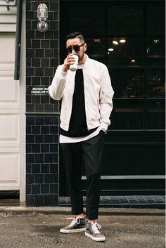 How to Wear (& Style) Monochrome in Black & White Like a Pro ⋆ Men's…