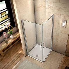 details zu duschkabine schwingtr duschabtrennung 6mm nano glas drehtr eckeinstieg dusche - Dusche Pendeltur Schwingtur