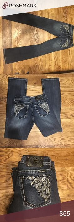 Boot cut miss me jeans size 30 Style No: JP5491B, Color: MK 101 SIZE: 30 boot cut jean Miss Me Jeans Boot Cut