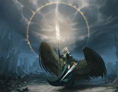 Avacyn - Angel of Vengeance by entroz.deviantart.com on @DeviantArt