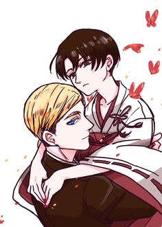 """tsukareta-levi: """" Art by 屈兰林丁河 on pixiv: AOT LOG ※ Posted with written permission ※ Do not repost or remove the source """""""