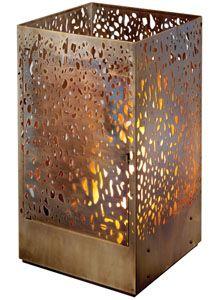 EcoSmart Fire: Lantern Ventless Outdoor Fireplace