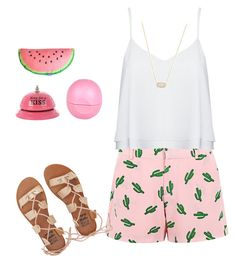 """""""pink"""" by claudettehernandez on Polyvore featuring American Retro, Alice + Olivia, Kendra Scott, Billabong and River Island"""