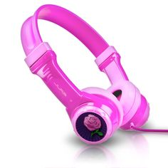JLab JBuddies Kids Volume Limiting Headphones - Pink: Electronics