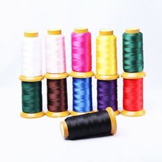New arrival 10 Color Nylon Silk Cord Thread Line Fit Necklace DIY For Jewelry Making No Elastic Jewelry Findings 350 M Bead Store, Diy Jewelry Findings, Diy Jewelry Making, Diy Necklace, Cord, Jewelry Accessories, Stationery, Beads, Collar Diy