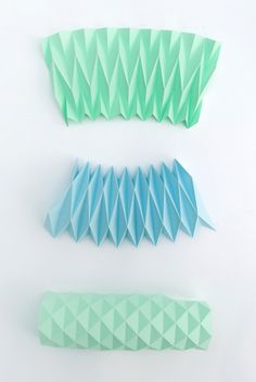 DIY Accordion paper folding #tutorial #crafts
