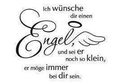 Wall Decals-I-wuensche-you-a-angel-web-single - Healthy Lifestyle Tips Angel Quotes, Angel Sayings, German Quotes, German Words, Birthday Pictures, Christmas Quotes, Words Quotes, Decir No, Wall Decals