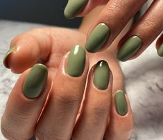 Aycrlic Nails, Swag Nails, Hair And Nails, Gel Manicure, Matte Gel Nails, Essie Gel, Nagellack Trends, Best Acrylic Nails, Acrylic Nails Green