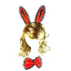 Your day won't be complete without this! Red and Pink Bunn... http://simplyparisboutique.com/products/red-and-pink-bunny-set-halloween-devil-accessories?utm_campaign=social_autopilot&utm_source=pin&utm_medium=pin