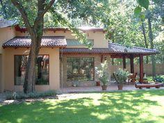 Több generációs családi ház :: Mártonffy István építész   Budakeszi Village House Design, Village Houses, Tiny House Design, My Ideal Home, Spanish Style Homes, Backyard, Patio, Tropical Houses, Small House Plans