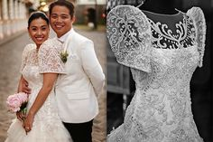8 Filipiniana Gowns That Will Stun You To Silence Wedding Dress Gallery, Wedding Dresses Photos, Wedding Dress Sizes, Wedding Dress Sleeves, Bridal Wedding Dresses, Designer Wedding Dresses, Modern Filipiniana Gown, Filipiniana Wedding Theme, Recital