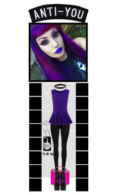 """ANTI-YOU..."" by ilovehedgehogs1029 ❤ liked on Polyvore featuring Oris, Dr. Denim, Mark Cross, Alexander McQueen, Giuseppe Zanotti, Topshop, AlexanderMcQueen, scene, goth and GiuseppeZanotti"