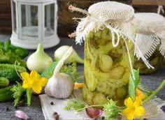Ogórki konserwowe na słodko, z cebulą i papryką Garlic, Vegetables, Veggies, Vegetable Recipes