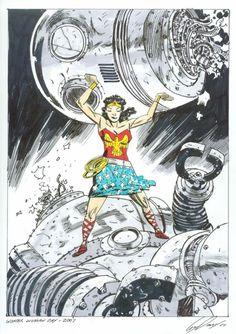 Wonder Woman by Guy Davis.