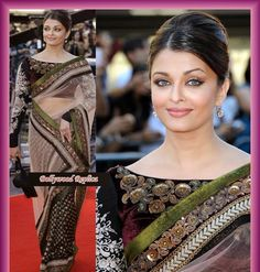 Latest saree blouse designs: Bollywood saree collections