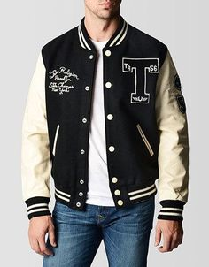True Religion Mens Richie Letterman...     $598.00