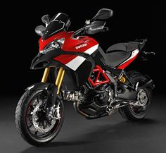 Ducati Multistrada 1200 S Pikes Peak Special Edition.   Look. I love everything about this motorcycle.