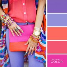 Coral and mauve | Discover Color Palette