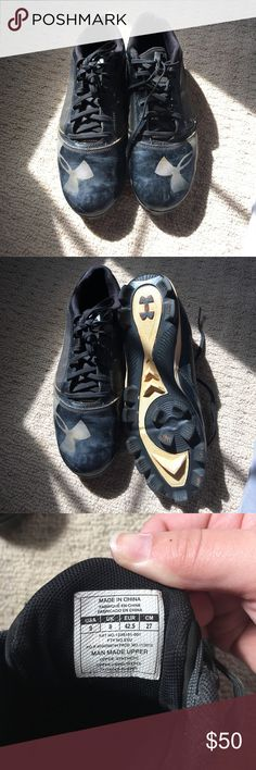 Under Armour Baseball Cleats Under Armour Baseball Cleats, Size 9 Under Armour Shoes Athletic Shoes