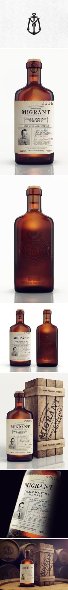 Migrant Whiskey by Chad Michael