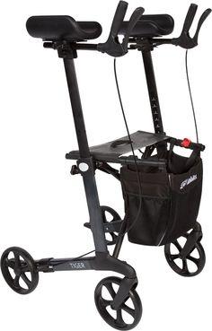 """Voici le  Déambulateur pliable à 4 roues """"Tiger"""" que vous trouverez au meilleur prix sur www.senup.com.     https://www.senup.com/deambulateur-4-roues-tiger-pliable-avec-siege-4509.html     Déambulateur pliable à 4 roues """"Tiger""""    Pliable.  Structure en aluminium.  Repose-bras avec poignées ajustables.  Équipé d'un siège et d'un sac.  Freins de parking.  Largeur : 62 cm.  Hauteur des repose-bras : de 95à 120cm."""