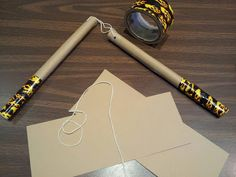 DIY Nunchucks (for Mikey TMNT Costume)