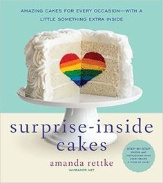 Surprise-Inside® Cakes Put something special into your baking. purchase book Utilize four methods when you make Surprise-Inside® Cakes: DECONSTRUCTION Taking cake apart and putting it back together, either with cake-mixture (think Cake Pop), filling, or baked cake. BAKED CAKE IN BATTER This is simply taking a cake that is already baked and placing it into...