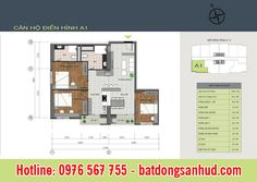 Thiết kế căn hộ chung cư 89 Thịnh Liệt: Mỗi căn hộ có diện tích 60 – 90 m2, bao gồm 2 -3 phòng ngủ, phục vụ nhu cầu nhà ở đa dạng của mọi người.