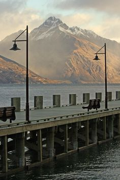 Bootpack Photo Co. - Places & Travel Photography - Lake Wakitipu Jetty, New Zealand Places Around The World, Around The Worlds, Places To Travel, Places To Visit, New Zealand Houses, The Beautiful Country, South Island, Auckland, Travel Photography