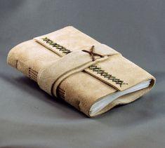Handgearbeiteter Journal Sketchbook, mittlere Größe