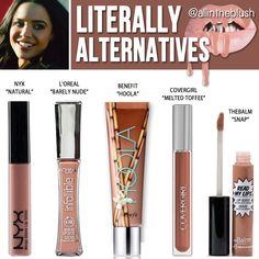 Kylie Jenner Cosmetics Literally Lip Gloss Alternatives