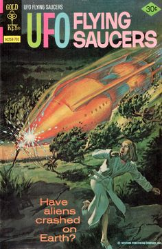 UFO Flying Saucers #13 (1968 Gold Key)