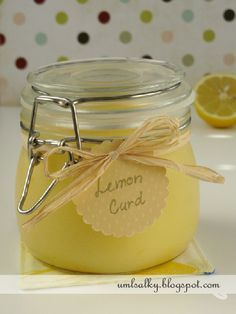 U mlsalky: Lemon Curd / Citrónový krém Lemon Curd, Cooking Tips, Food And Drink, Sugar, Homemade, Birthday Cakes, Cheesecake, Lemon, Home Made