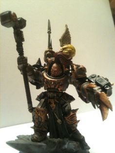 Conversion Corner: Iron Warriors warsmith(Counts as Abaddon the despoiler)