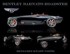 Bentley Barnato Roadster Concept Car, Benjamin Knapp Voith.